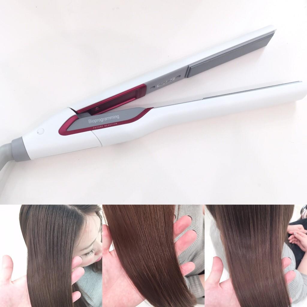 【爆裂必至】使えば使うほど髪が綺麗になるストレートアイロン「HAIR BEAURON STRAIGHT ヘアビューロンストレート」が入荷しました