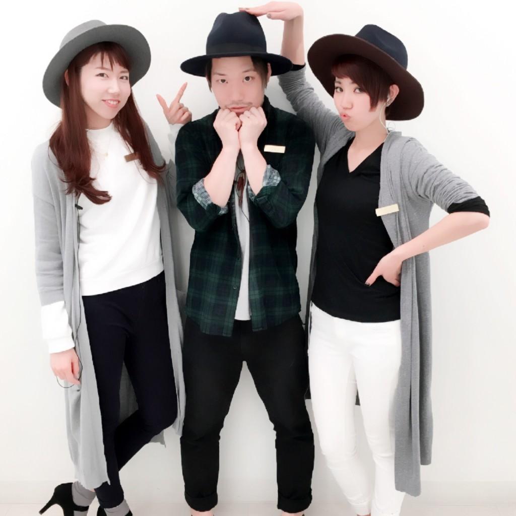 お揃いDay★帽子の日